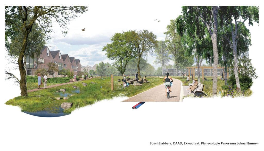 Panorama Lokaal Eindpresentatie Groenstrook_BoschSlabbers_landschapsarchitecten